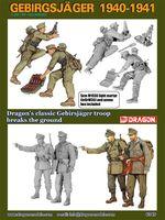 """Набор миниатюр """"Gebirgsjager 1940-1941"""" (масштаб: 1/35)"""