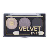 """Тени для век """"Velvet eyes"""" тон: 01, smoky eyes"""