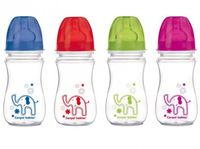 """Бутылочка для кормления """"Цветные животные"""" (240 мл)"""