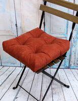 """Подушка на стул """"Velours"""" (40х40 см; терракотовая)"""