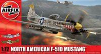 "Истребитель ""North American F-51D Mustang"" (масштаб: 1/72)"