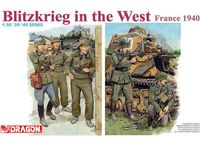 """Набор миниатюр """"Blitzkreig in the West France 1940"""" (масштаб: 1/35)"""