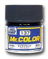 Краска Mr. Color (tire black, C137)