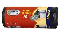 Мешки для мусора Grosik (45х50; 20 л; 50 шт)