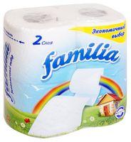 """Туалетная бумага """"Familia"""" (4 рулона)"""