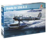 """Сборная модель """"Немецкий военный гидросамолет-разведчик Arado Ar 196 A-3"""" (масштаб: 1/48)"""