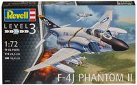 """Сборная модель """"Истребитель-бомбардировщик F-4J Phantom II"""" (масштаб: 1/72)"""