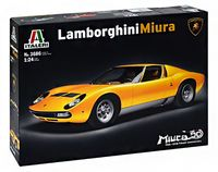 "Сборная модель ""Автомобиль Lamborghini Miura"" (масштаб: 1/24)"
