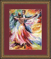 """Вышивка крестом """"Танец любви"""" (386х309 мм)"""