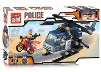 """Конструктор """"Police. Вертолет"""" (157 деталей)"""