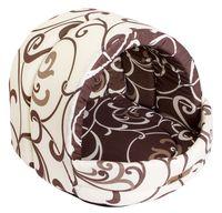Домик для животных (36х36х29 см; молочный шоколад; арт. stm 068)