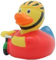 """Игрушка для купания """"Уточка велосипедист"""""""
