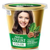 """Краска для волос """"Nature Stylist Color"""" тон: 3.0, темный каштан"""