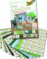 """Набор дизайнерского картона """"Любовь к природе"""" (240х340 мм; 26 листов)"""