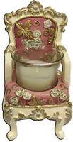 """Подсвечник """"Розовый трон"""" (6,5х6х10 см; арт. 44567)"""