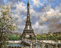 "Картина по номерам ""Романтика Парижа"" (400х500 мм)"