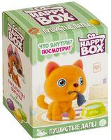 """Карамель с игрушкой """"Happy Box. Пушистые лапы"""" (18 г)"""