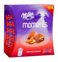 "Конфеты ""Milka. Moments Almond Caramel"" (96 г)"
