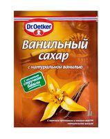 """Сахар ванильный """"Dr. Oetker. С натуральной ванилью"""" (15 г)"""