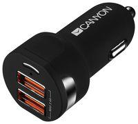 Автомобильное зарядное устройство Canyon CNE-CCA04B
