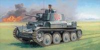 """Легкий танк """"Pz.Kpfw 38(t) Ausf. F"""" (масштаб: 1/35)"""