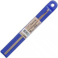 Крючок для вязания (бамбук; 5.0 мм)