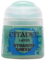"Краска акриловая ""Citadel Layer"" (sybarite green; 12 мл)"