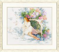 """Вышивка крестом """"Весенние мечты"""" (277x335 мм)"""