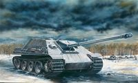 """САУ """"SD.KFZ.173 Jagdpanther"""" (масштаб: 1/72)"""