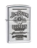 """Зажигалка Zippo """"Emblem High Polish Chrome. Jim Beam"""" (250 JB 928)"""