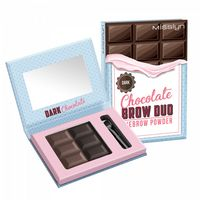 "Пудра для бровей ""Chocolate brow duo"" тон: 06, dark chocolate"