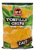 """Чипсы кукурузные """"Тortilla Chips. С солью"""" (200 г)"""
