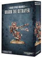 Warhammer 40.000. Chaos Space Marines. Kharn the Betrayer (43-25)