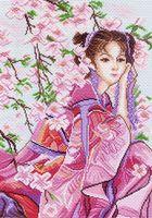 """Канва с нанесенным рисунком """"Розовые мечты"""""""