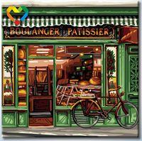 "Картина по номерам ""Французская пекарня"" (250х250 мм; арт. HB2525007)"