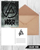 "Открытка №852 ""Linkin Park"""