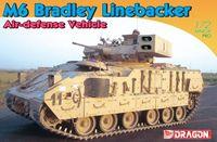 """Боевая машина """"M6 Bradley Linebacker Air-Defense Vehicle"""" (масштаб: 1/72)"""