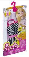 "Одежда для куклы ""Барби. Сарафан с черно-белым рисунком"""