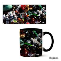 """Кружка """"Лего. Звездные войны"""" (арт. 616, черная)"""