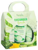 """Подарочный набор """"Cucumber Fresh"""" (молочко-тоник, 2 крема)"""