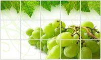 """Экран защитный кухонный """"Виноградная гроздь"""" (45х75 см)"""