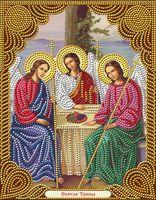 "Алмазная вышивка-мозаика ""Икона Святая Троица"" (220х280 мм)"