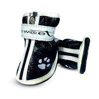 """Ботинки с """"лапками"""" (6х5х6,5 см; черные)"""
