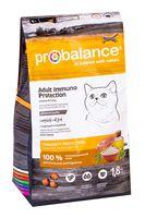 """Корм сухой для кошек """"Immuno Protectiion"""" (1,8 кг; с курицей и индейкой)"""