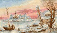 """Набор для вышивания """"Замороженный остров"""""""
