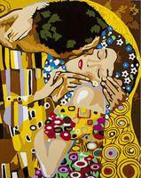 """Картина по номерам """"Густав Климт. Поцелуй"""" (400х500 мм; арт. PC4050028)"""