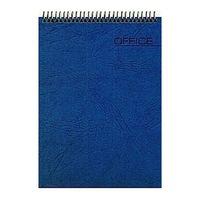 "Блокнот в клетку на спирали ""Office"" (А6; 60 листов; синий)"