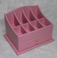 """Комод для косметики """"Розовый"""" (арт. МВ00874.21)"""