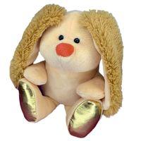 """Мягкая игрушка """"Подарочный Кролик"""" (16 см; бежевая)"""