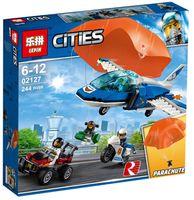 """Конструктор Cities """"Воздушная полиция: арест парашютиста"""""""